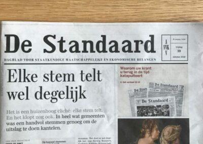 Cover De Standaard AVV