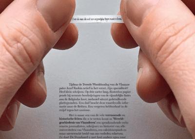 Advertentie Duivenposr De Standaard